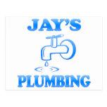 Jay's Plumbing Postcard