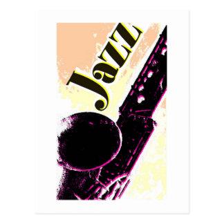 Jazz14 Postcard