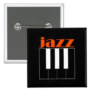 Jazz 15 Cm Square Badge