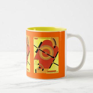 Jazz Age Art Deco Abstract Coffee Mugs