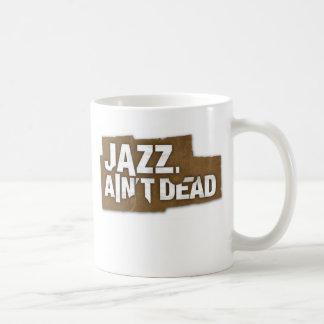 JAZZ AIN T DEAD Logo Mug