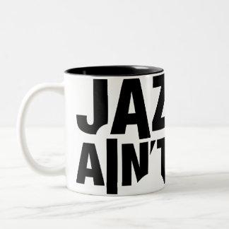 JAZZ AIN T DEAD Wrap-Around Mug