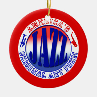 Jazz, America's Original Art Form Christmas Ornament