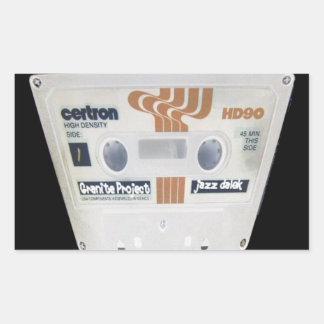 Jazz - AN ART - 01 Rectangular Sticker