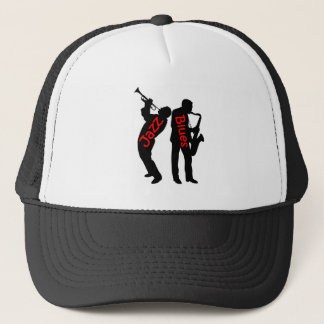 Jazz and Blues Trucker Hat