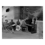 Jazz Band, 1918 Print
