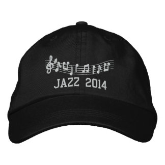 Jazz Band 2014 Embroidered Music Hat Baseball Cap