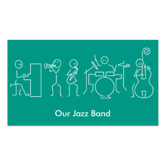 Jazz Band Business card