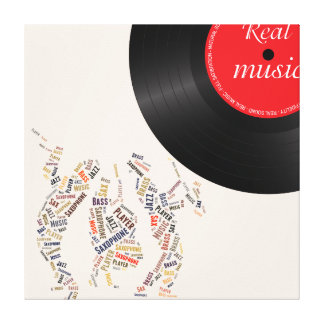 Jazz Band Gallery Wrap Canvas