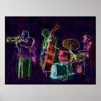 Jazz Band Print