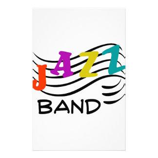 Jazz Band Stationery