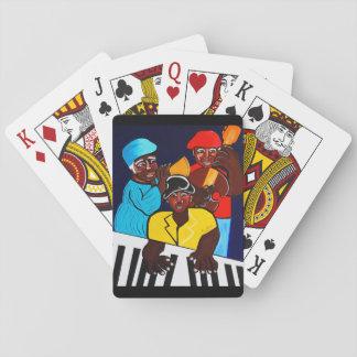 JAZZ BAND  SUNSHINE BAND PLAYING CARDS