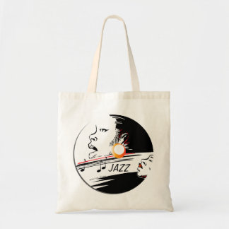 Jazz Blues singer Tote Bag