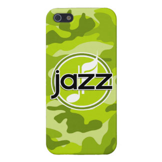 Jazz bright green camo camouflage case for iPhone 5/5S