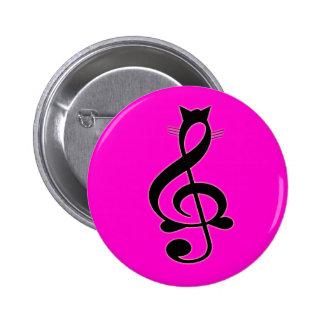 Jazz Cat Button