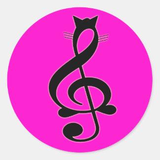 Jazz Cat Sticker