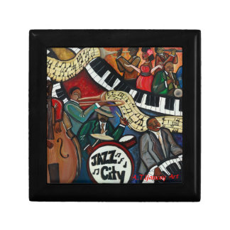 Jazz City Giftbox Small Square Gift Box