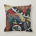 Jazz City Pillow