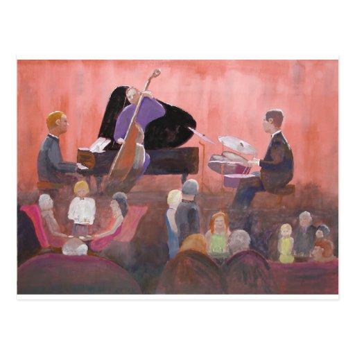 Jazz Club Post Card