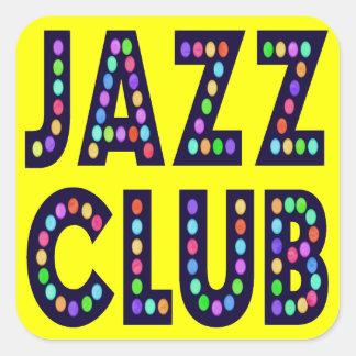 Jazz Club Stickers