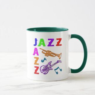 JAZZ COLORS MUG