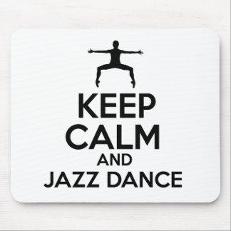 jazz dance design mousepads