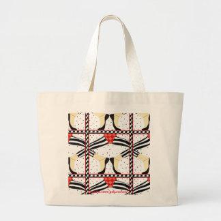 Jazz Dance Large Tote Bag