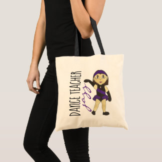 Jazz Dance Teacher Instructor Recital Class Gift Tote Bag
