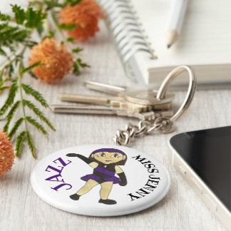 Jazz Dance Teacher Personalized Recital Gift Key Ring