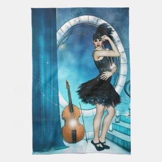 Jazz Dancer Tea Towel