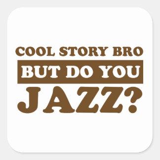 jazz design stickers