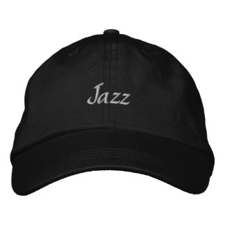 Jazz Embroidered Baseball Cap