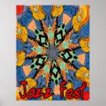 Jazz Fest Guitars 2 Poster