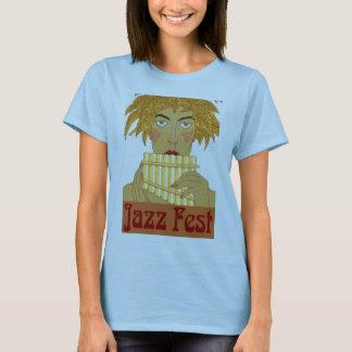Jazz Fest Pan on Flute T-Shirt