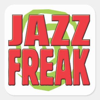 Jazz Freak R Square Stickers