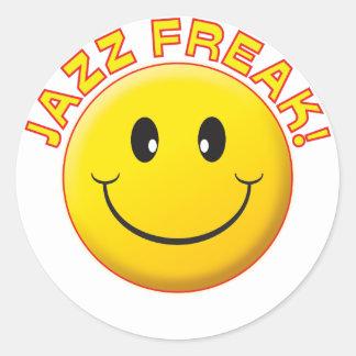 Jazz Freak Smile Stickers