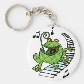 Jazz Frog Key Ring