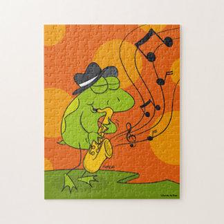 Jazz Frog Puzzle