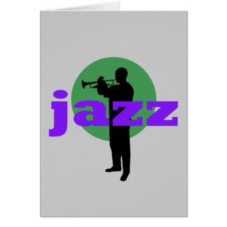 Jazz Greeting Card