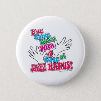 Jazz Hands! 6 Cm Round Badge
