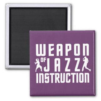 Jazz Instruction custom color magnet