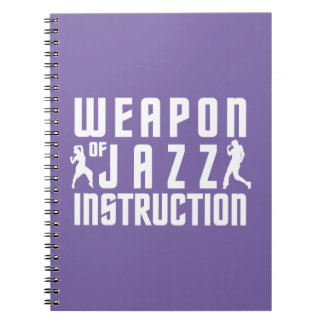 Jazz Instruction custom color notebook