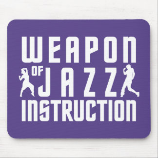 Jazz Instruction custom mousepad