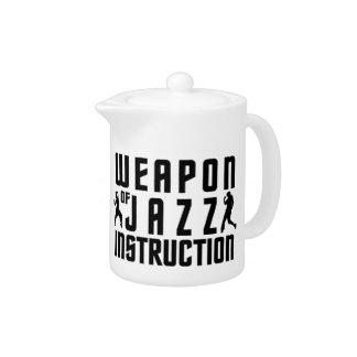 Jazz Instruction teapot