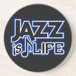 JAZZ IS LIFE custom coaster