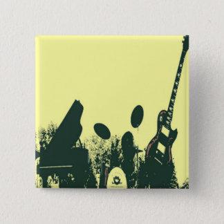 Jazz it Up/Band 15 Cm Square Badge
