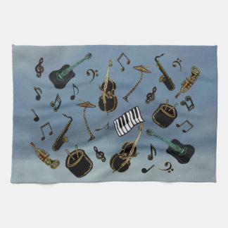 Jazz it Up Tea Towel