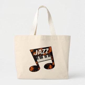 jazz large tote bag