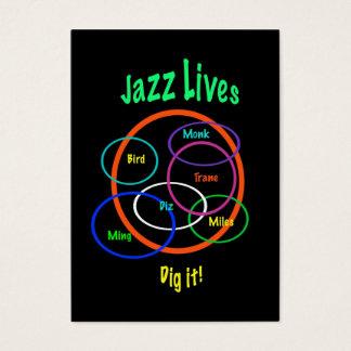 Jazz Lives ATC Business Card