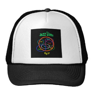 Jazz Lives Trucker Hat